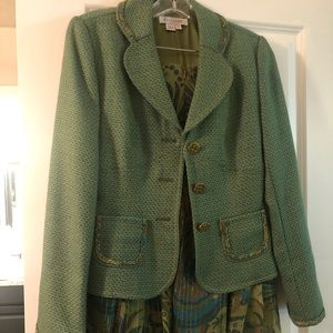 Kay Unger skirt suit